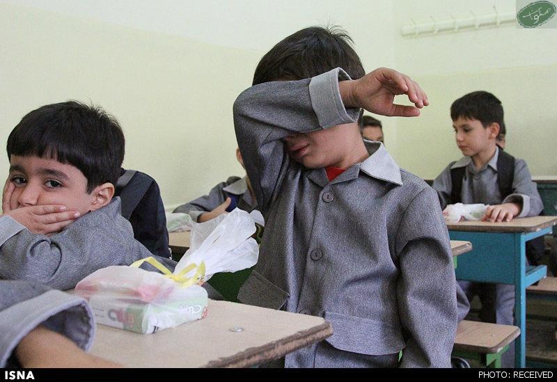گریه در روز اول مدرسه 2