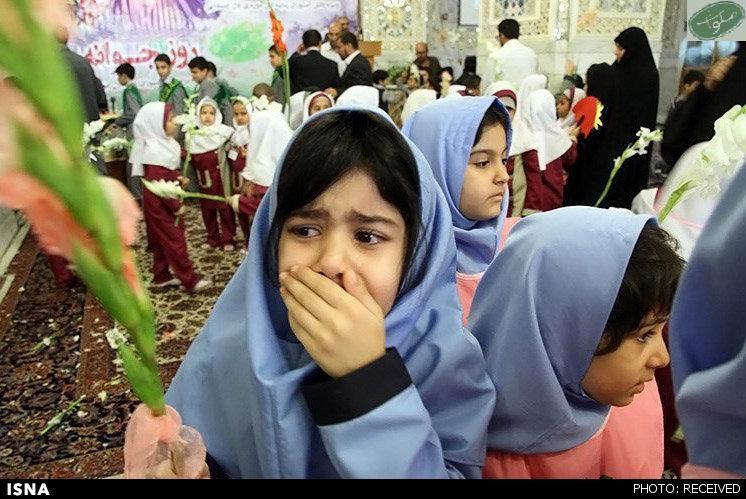 گریه در روز اول مدرسه