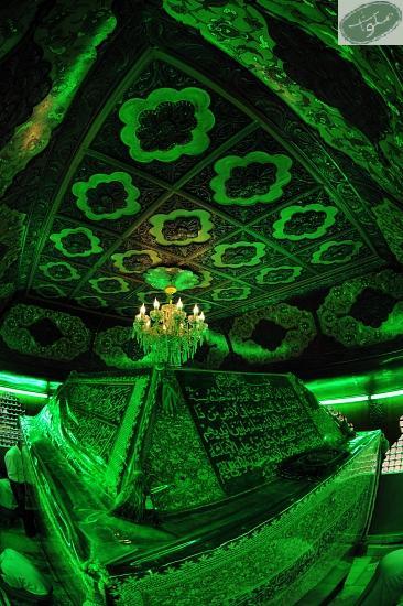 داخل ضریح حضرت عباس