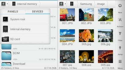 فایل منیجر برای آندروید |T-virus.rozblog.com|