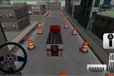 دانلود بازی fire truck parking 3d  آندروید