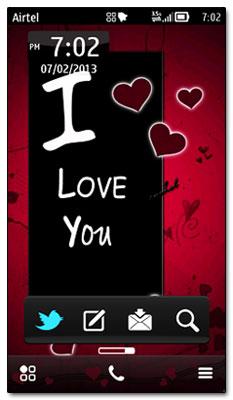 تم I love u سیمبیان |T-virus.rozblog.com|