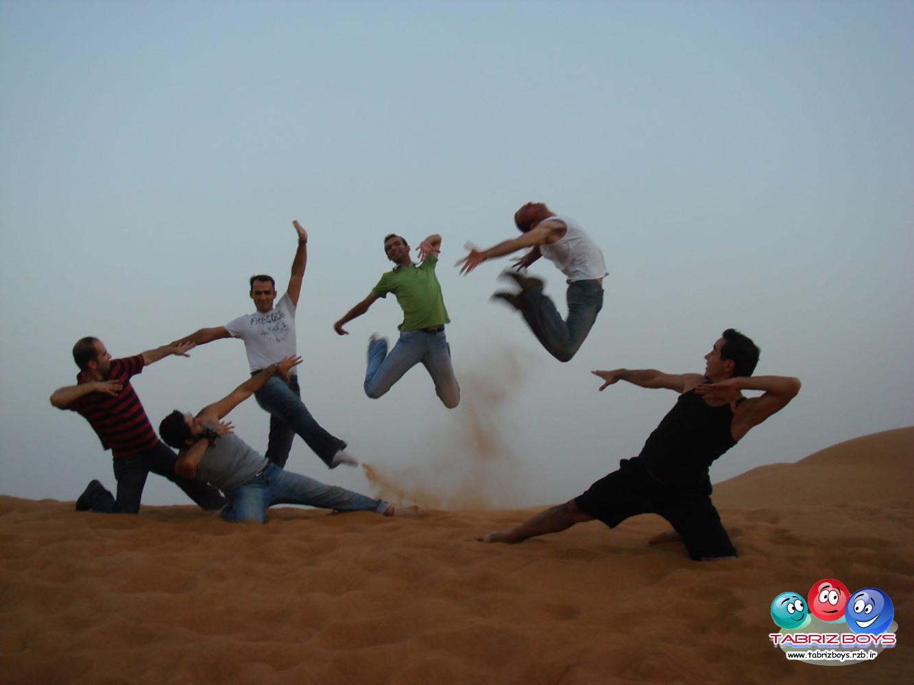 بچه های رقص آذری