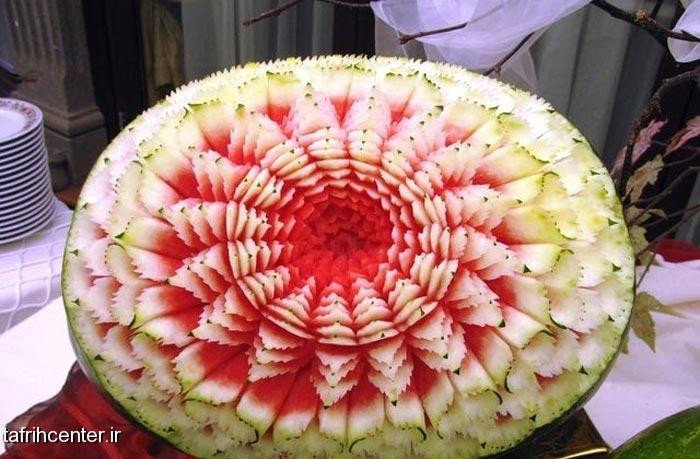 تزئینات جدید و زیبا هنوانه شب یلدا میوه شب یلدا تبریک شب چله شب یلدا