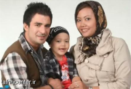 یوسف تیموری و همسر تایلندی عکس بازیگران عکس یوسف تیموری