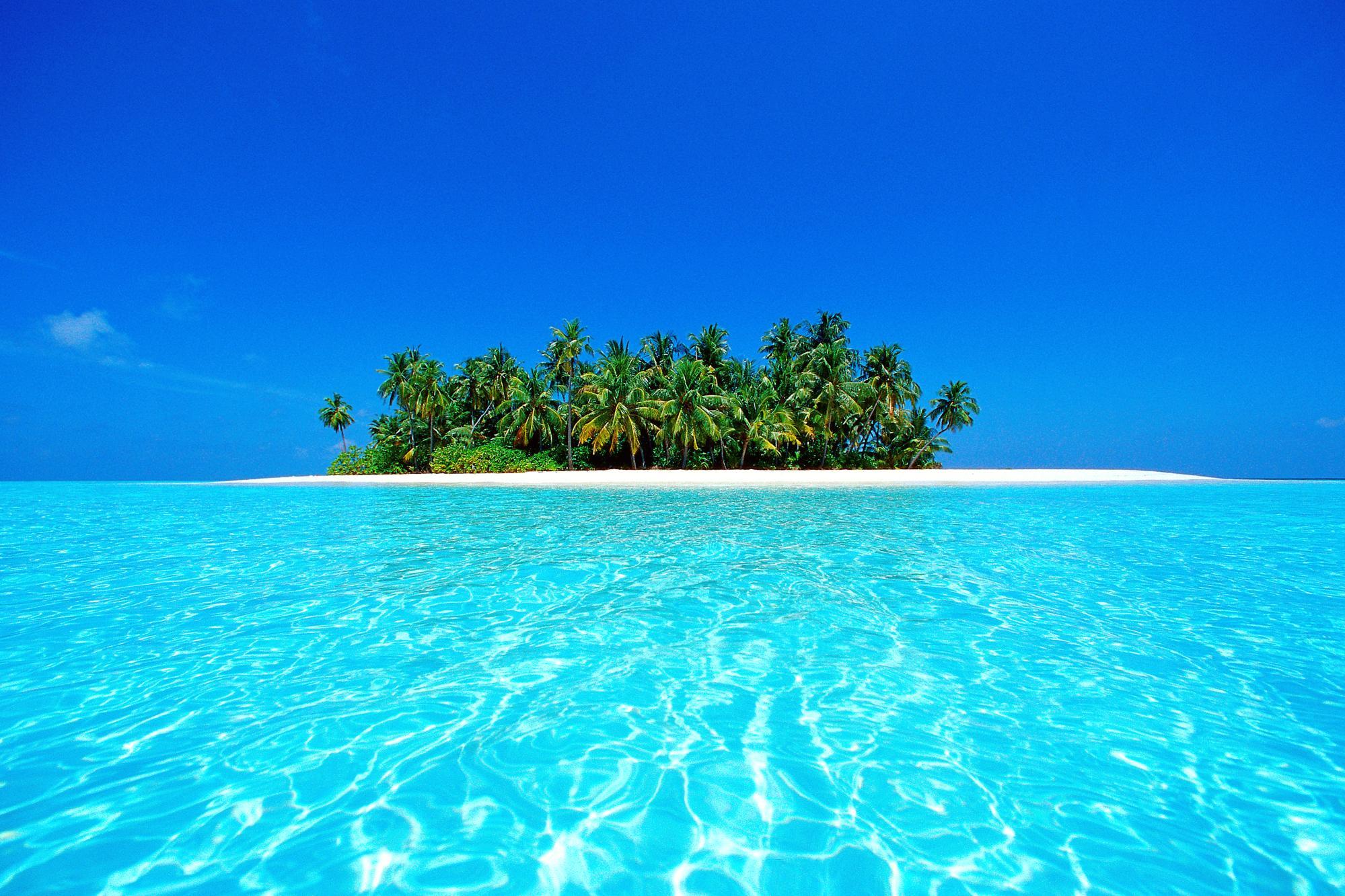 جزیره ای در مالدیو