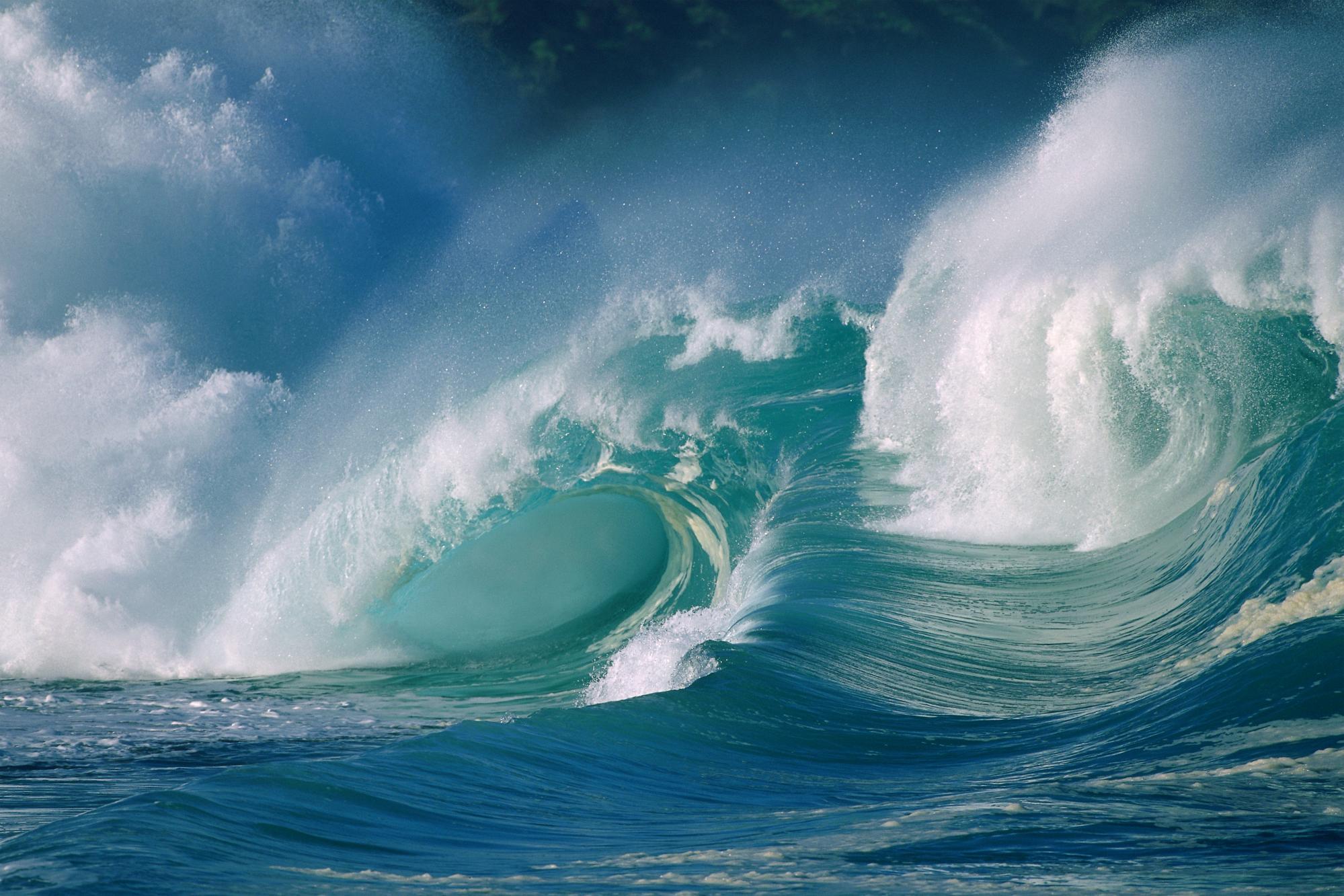 تصادف امواج