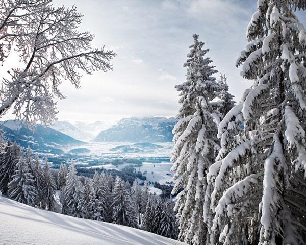 زمستان در کوهستان