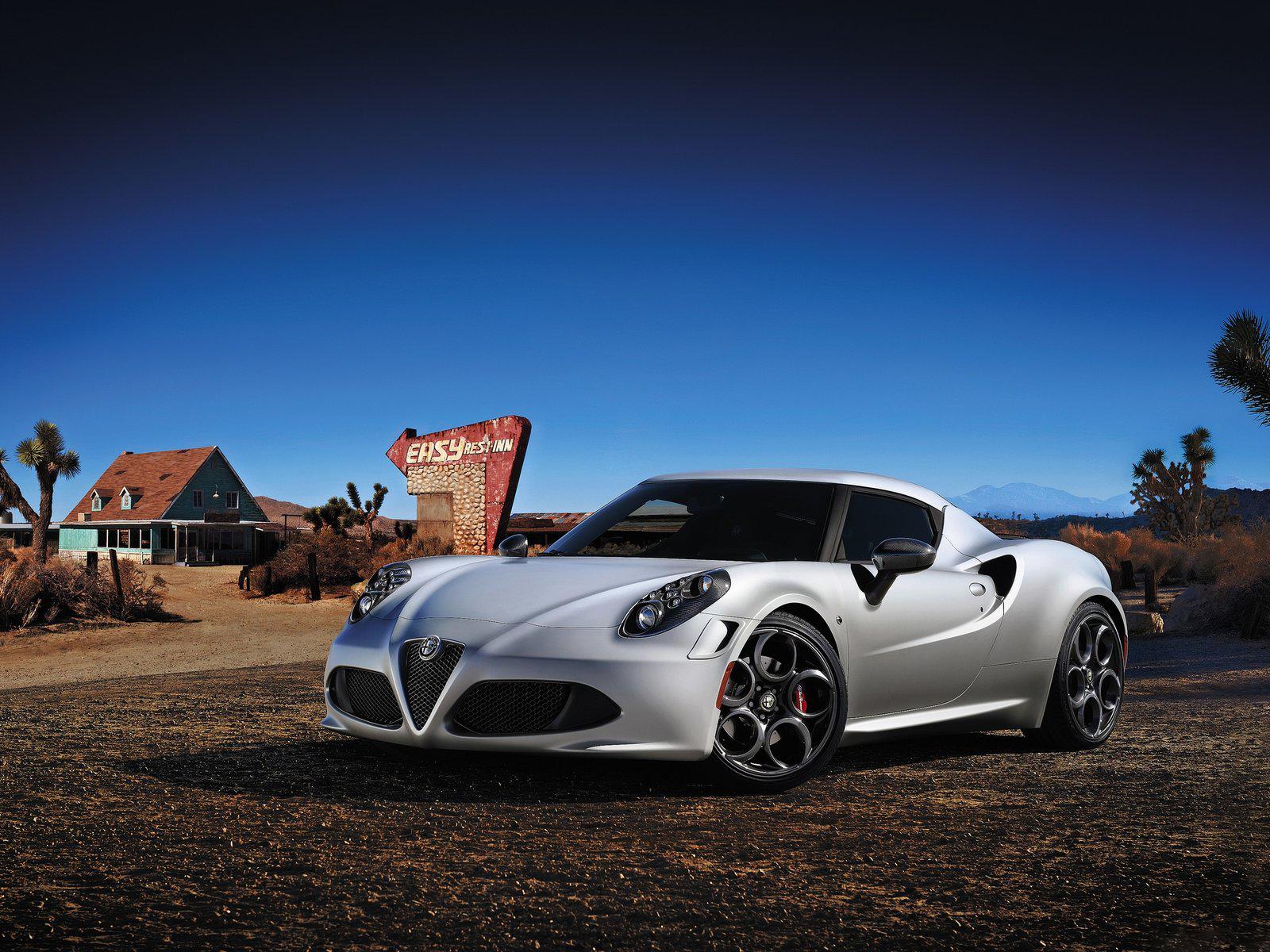 Alfa Romeo - 4C