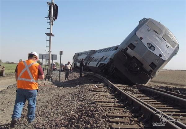 واژگونی قطار