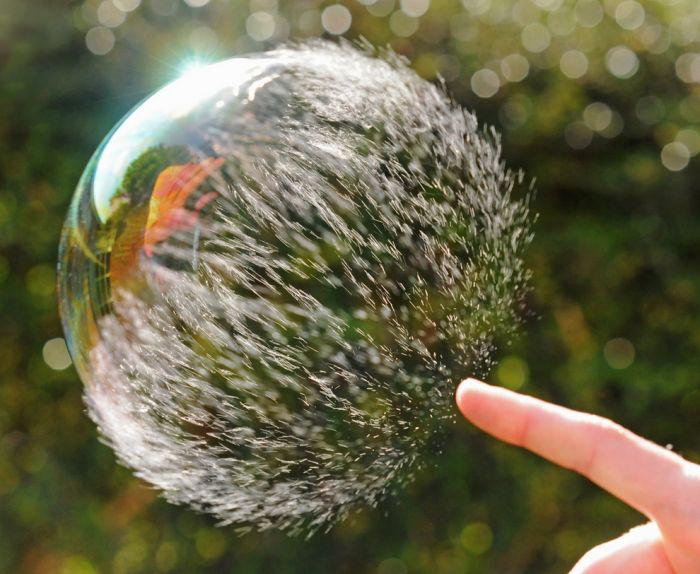 انفجار حباب
