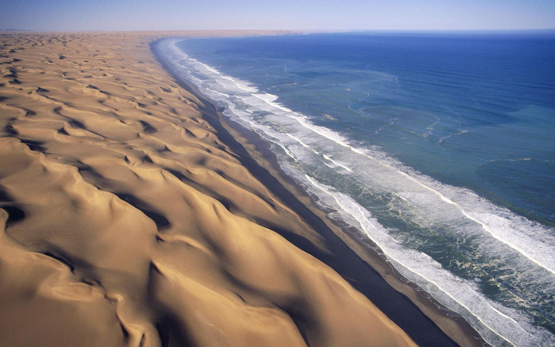 ساحل شنی - نزیدیکی بهشت و جهنم زمینی