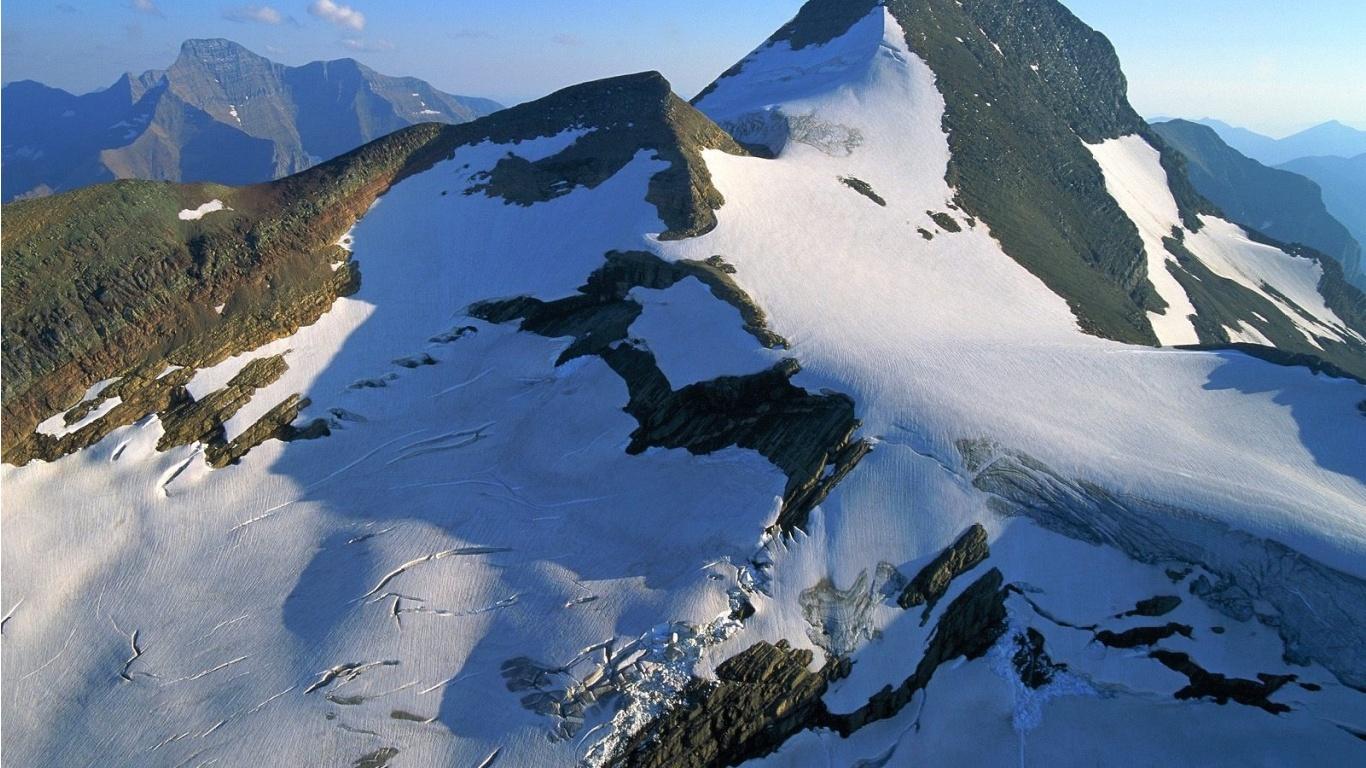 قله های برفی
