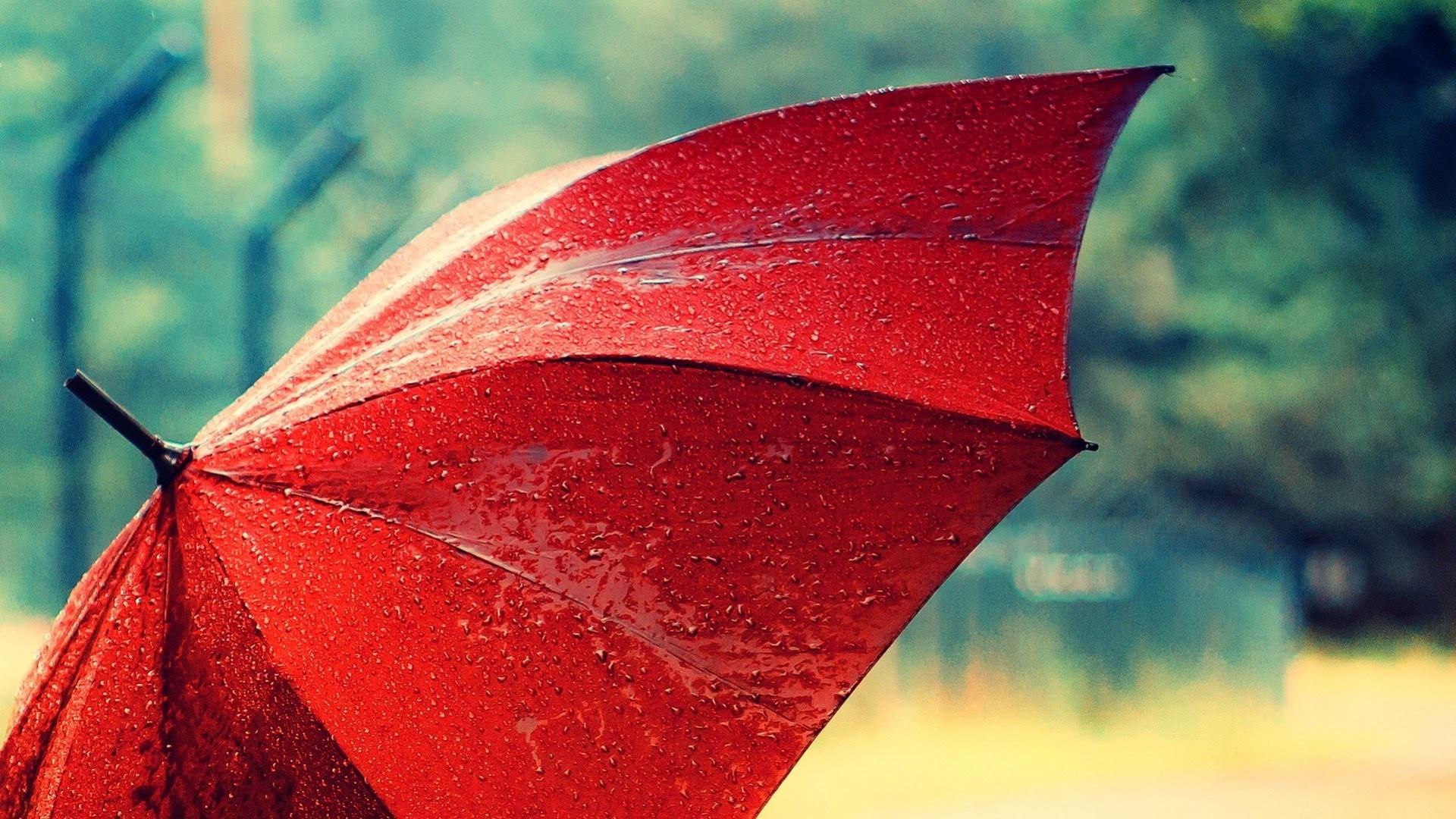 چتر قرمز