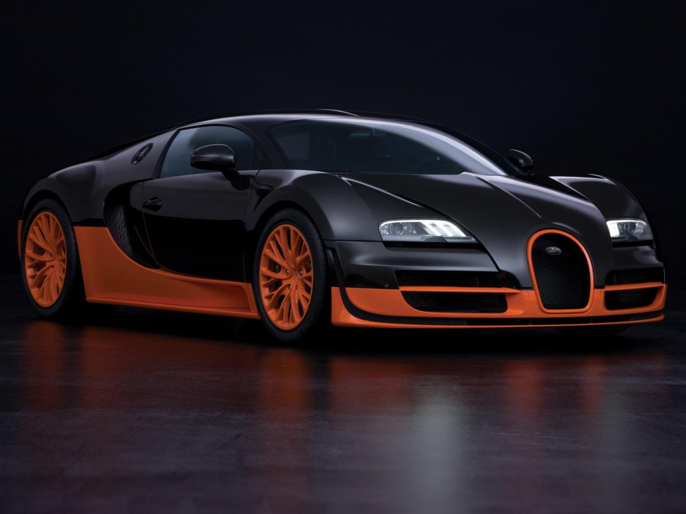 ماشین Bugatti Veyron 16.4 Super Sport