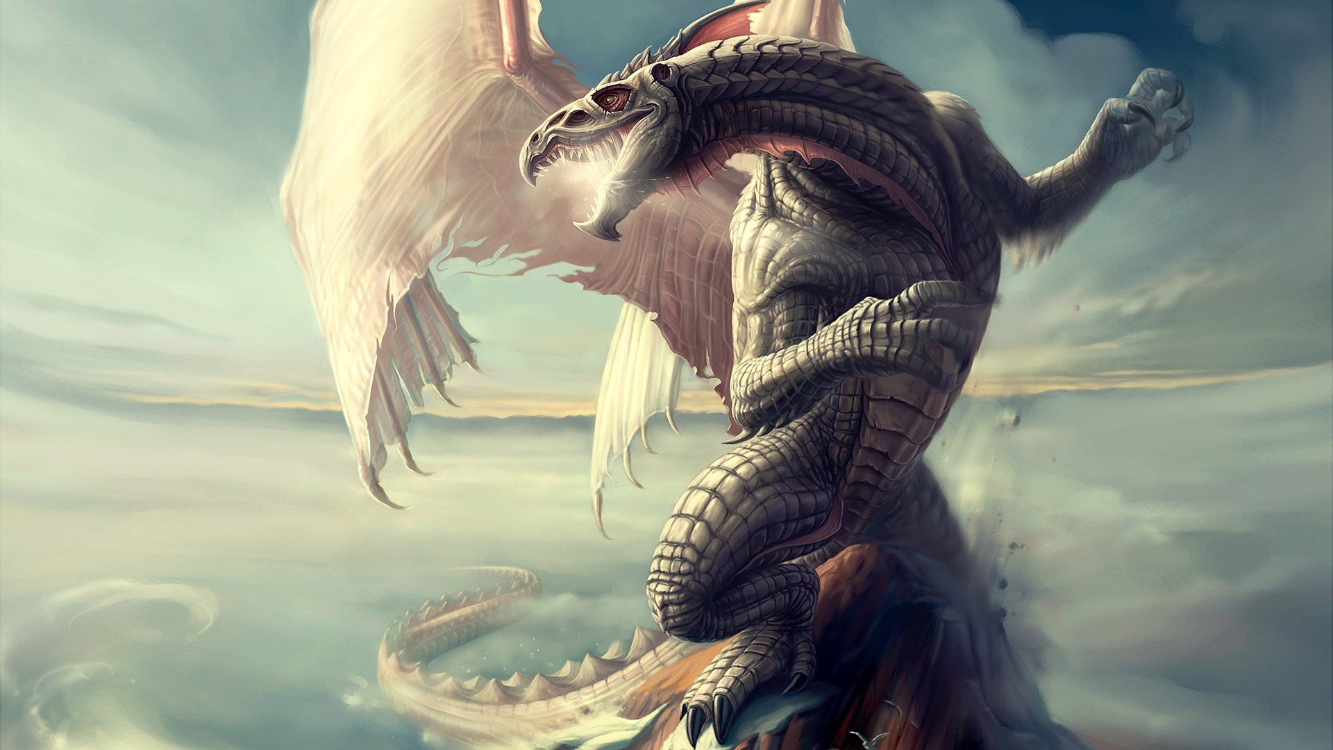هرگز اژدها غروب نمی کند | Neverwinter Nights Dragon
