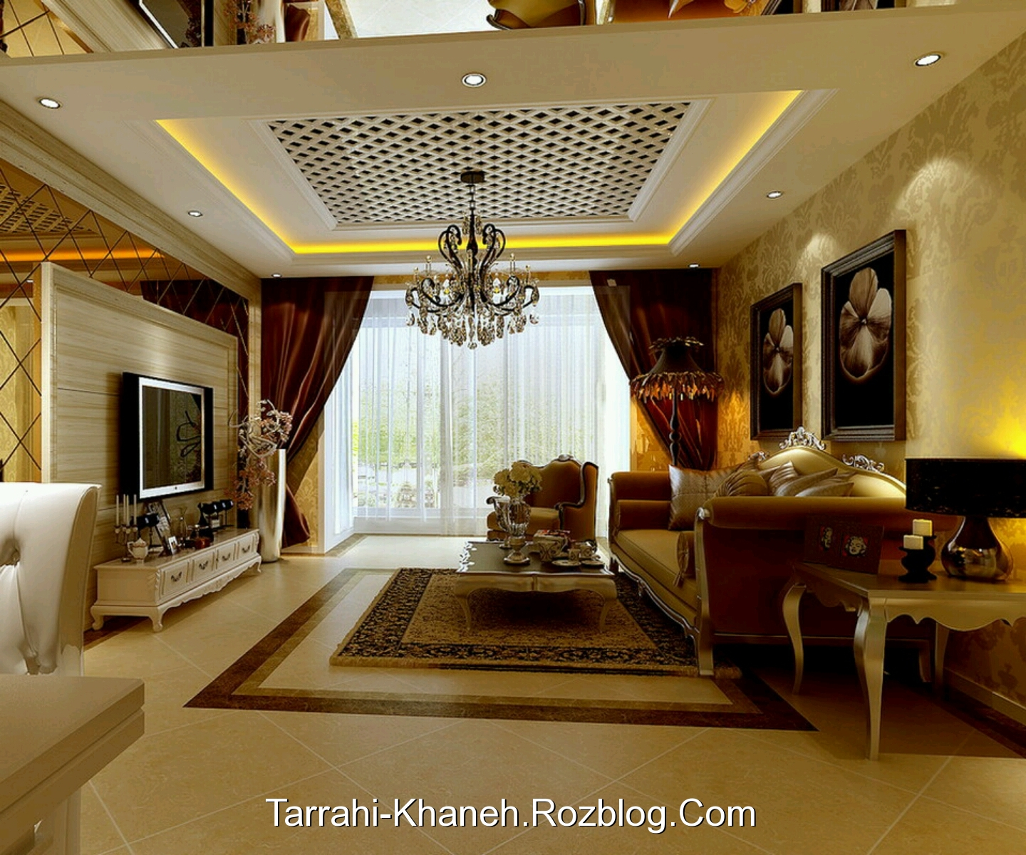 Luxury Ideas For Lavish Living Room Style: Http://rozup.ir/up/tarrahi-khaneh/Pictures/Decoration