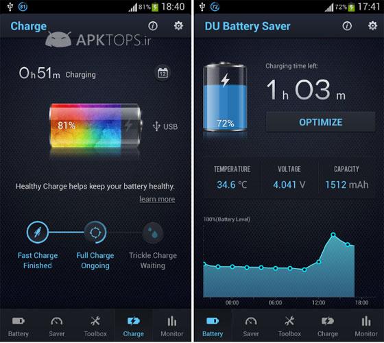 DU Battery Saver PRO & Widgets 3.6.0 pro   کاهش مصرف باتری گوشی های اندروید