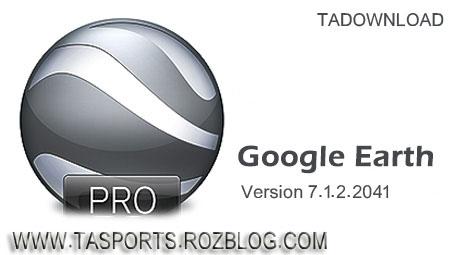 7.1.2.2041  Google Earth Pro