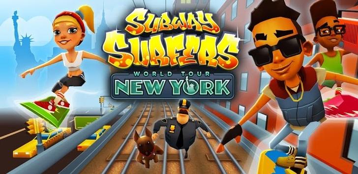 بازی بسیار محبوب Subway_Surfers ورژن جدید