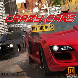 بازی ماشین های دیوانه  Crazy Cars Hit The Road