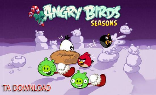 بازی Angry_Birds_Seasons ( اندروید )