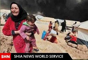به اسارت گرفتن دهها زن و کودک ترکمن شیعه توسط داعش در موصل