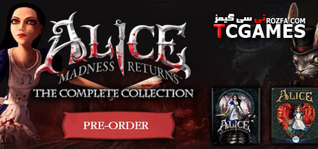 کرک بازی Alice Madness Returns Complete Collection