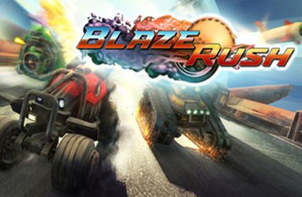 دانلود کرک سالم بازی BlazeRush