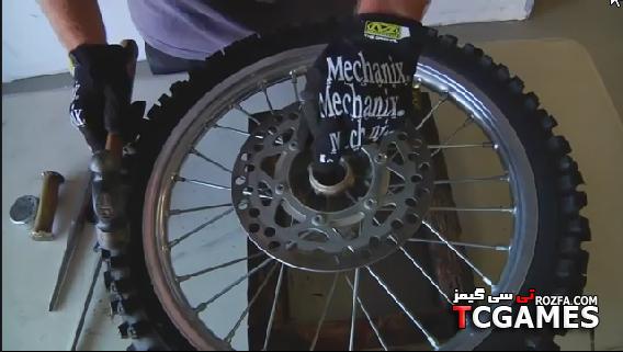 دانلود فیلم آموزش تعویض بلبرینگ چرخ موتورسیکلت