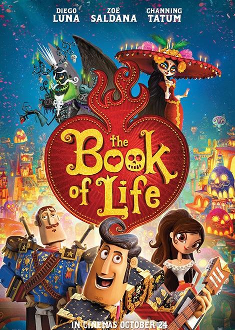 دانلود انیمیشن جدید کتاب زندگی با دوبله فارسی The Book of Life 2014