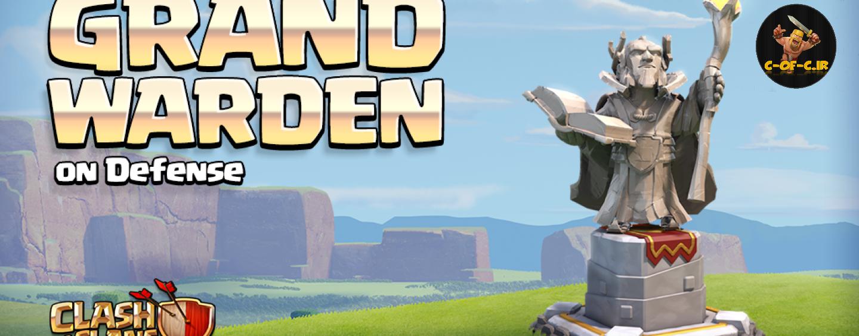 اپدیت تاون هال11:نحوه دفاع کردن گرند واردن grand warden