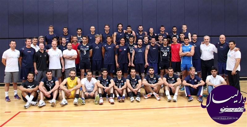 باخت ایران در اولین بازی تدارکاتی مقابل آمریکا