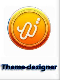 وبسایت شماره4 : تم دیزاینر ( theme-designer )
