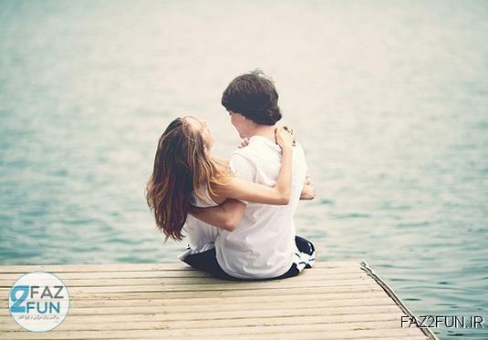 عکس های جدید بوسه دختر و پسر عاشق
