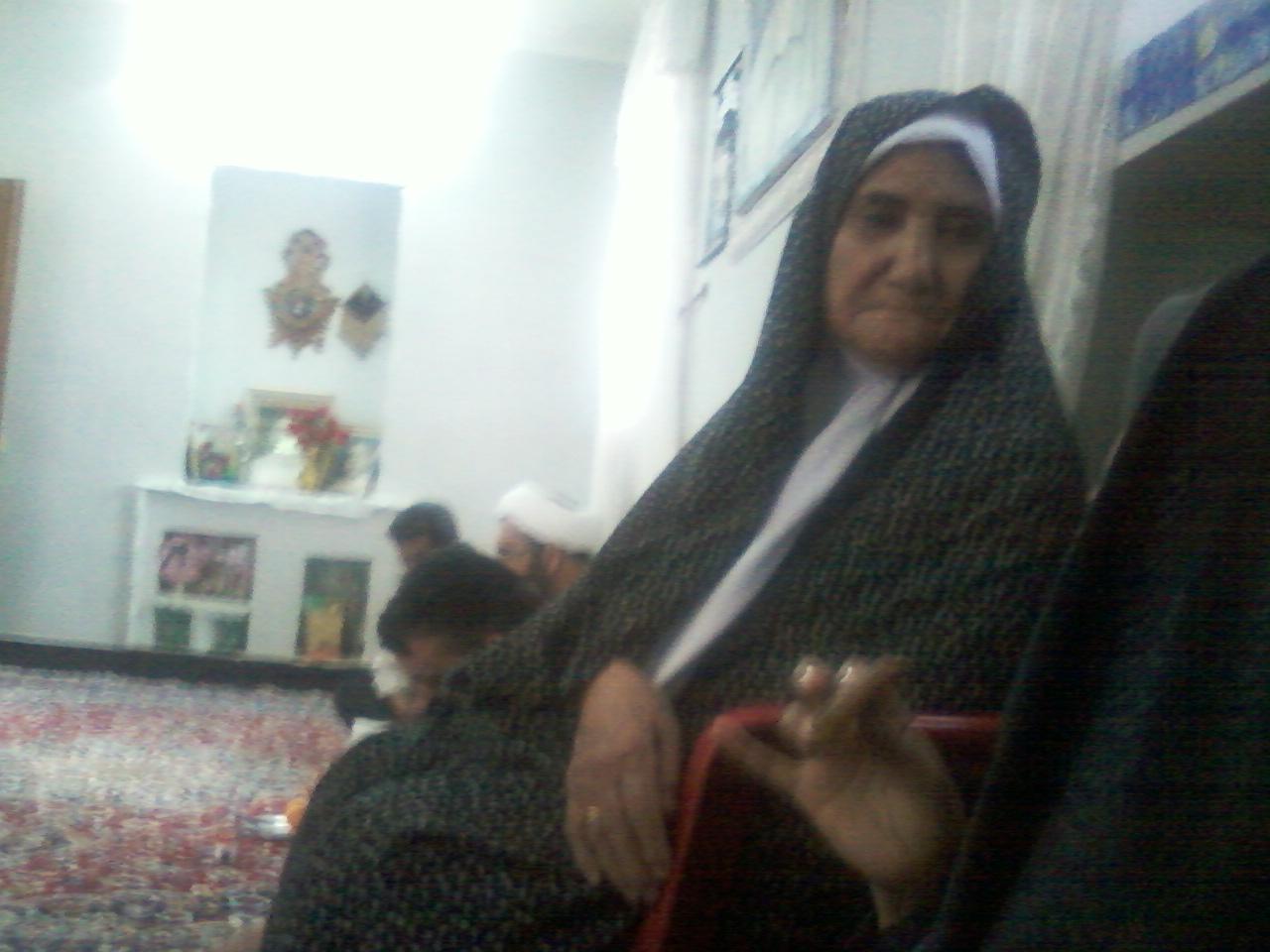 بازدید از مادر شهید مرتضی شجاعی