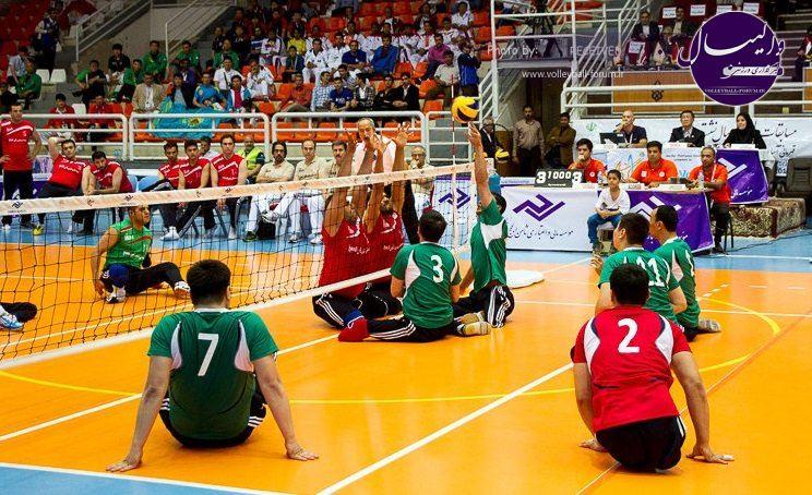 تیم والیبال نشسته مشهد صدرنشین شد