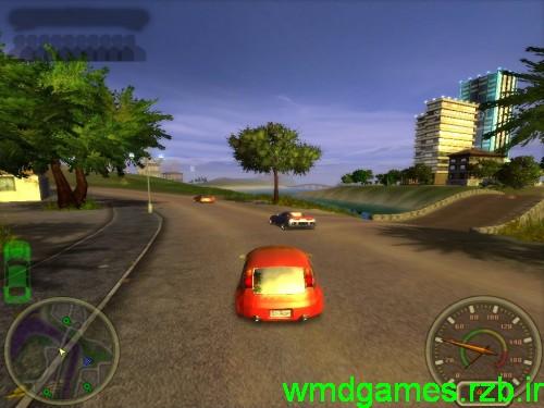 دانلود بازی موتوری2 کم حجم city racing
