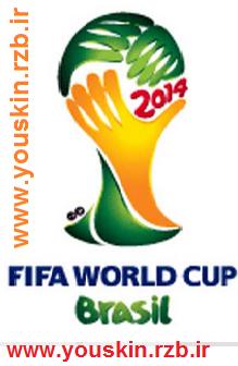 فونت بسیار زیبای Brasil Worldcup 2014