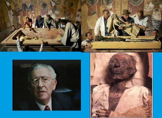 مسلمان شدن با دیدن جسد فرعون