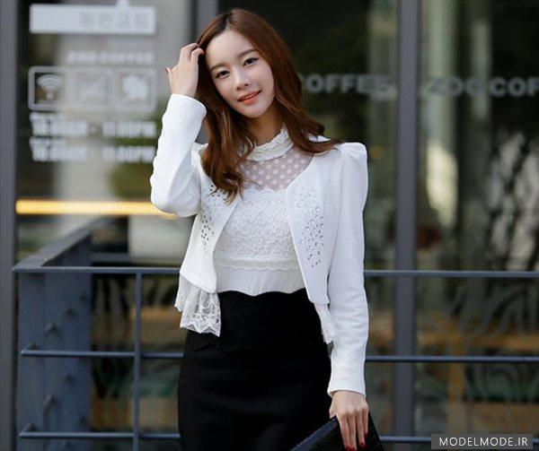 مدل لباس دخترانه و زنانه اسپرت کره ای 2014