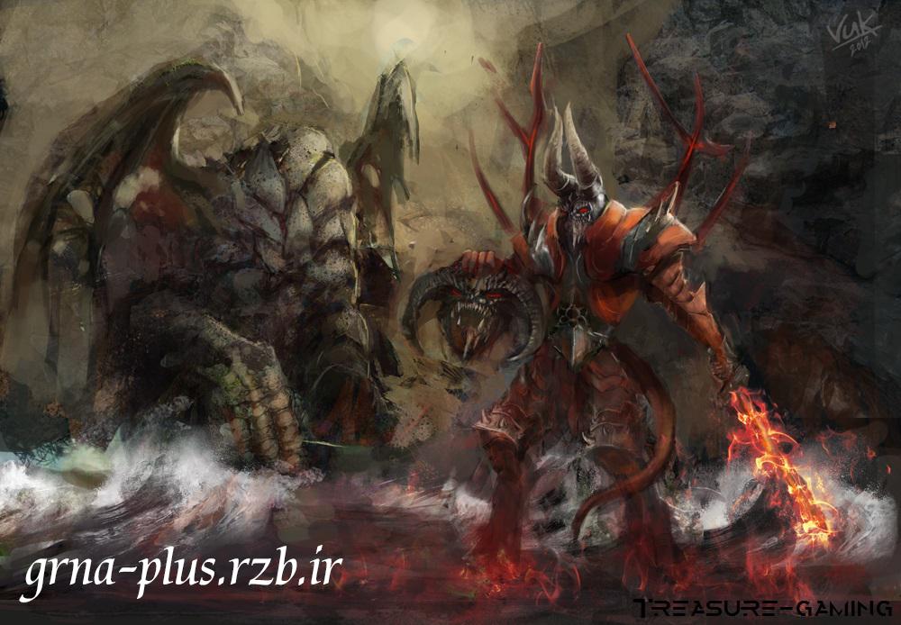 دانلود تم Doom برای وارکرافت III