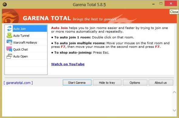 دانلود برنامه گارنا توتال(Garena Total) ورژن 5.8.5