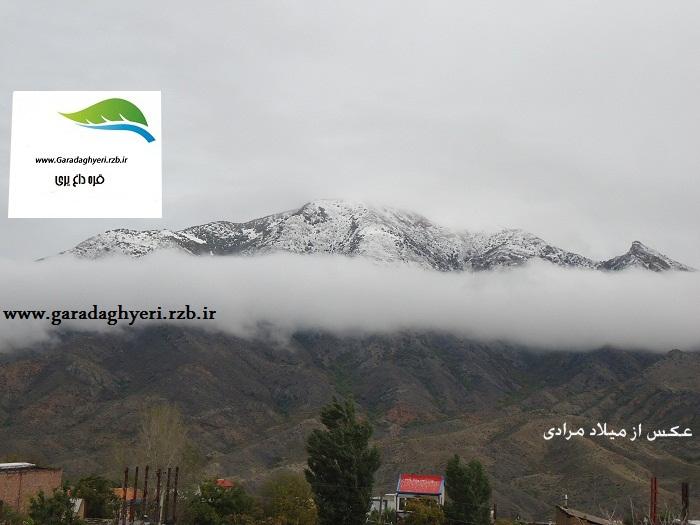 گرفتن سیمایی زیبا  در اولین برف پاییزی