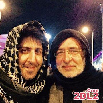 عکس منتشر شده از هومن حاج عبداللهی در کربلا