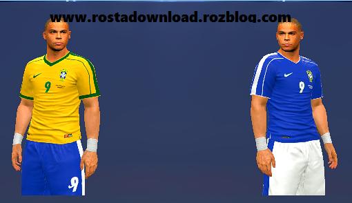 کیت کلاسیک 1998 برزیل برای PES 2016