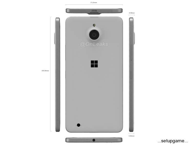 تصاویری از گوشی فلزی مایکروسافت که به زودی معرفی خواهد شد