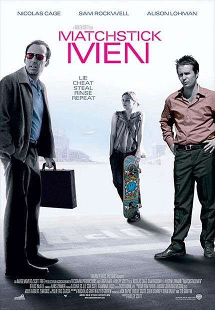 دانلود دوبله فارسی فیلم شیادان Matchstick Men 2003