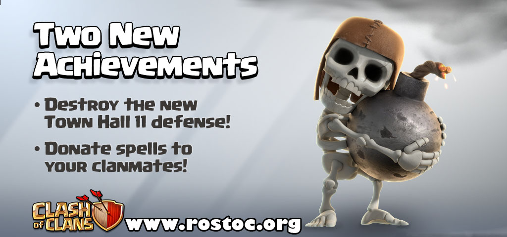 اضافه شدن achievements در آپدیت جدید