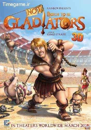 گلادیاتورهای دست و پا چلفتی – Gladiators of Rome  دوبله فارسی